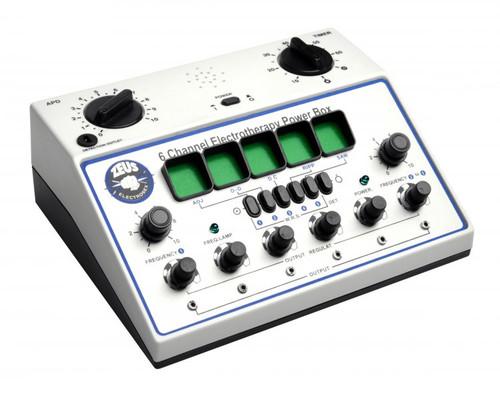 Zeus 6 Channel Deluxe Electrosex Power Box