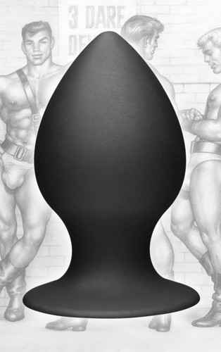 Tom of Finland Large Silicone Anal Plug