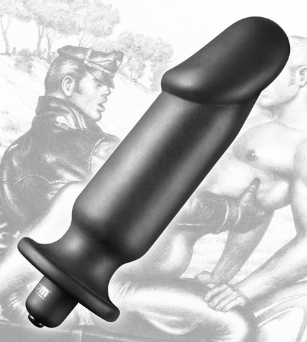 Tom of Finland Silicone Vibrating Anal Plug