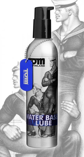 Tom of Finland Water Based Lube - 8 oz
