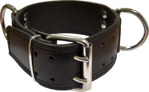 Mister B Slave Collar D Rings Broad