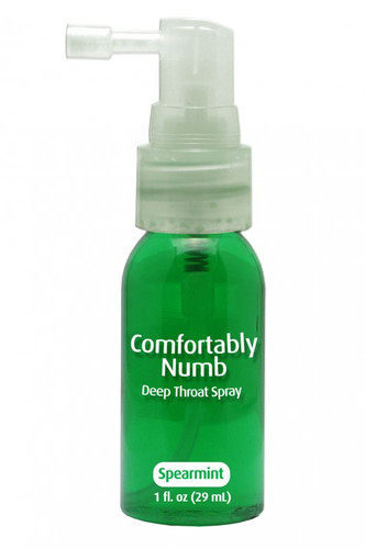 Comfortably Numb Deep Throat Spray 1 fl oz - Mint