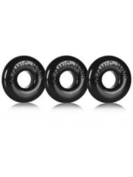 Ringer 3-Pack Of Do-Nut-1 - Black