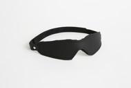 Velcro fastened Leather Blindfold