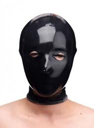 Rubber Slave Hood - Black