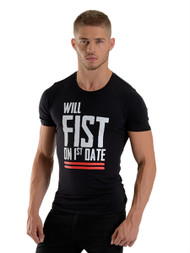 Mister B FIST T-shirt Black