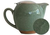 Green Crackle Glaze Teapot - 22 oz.
