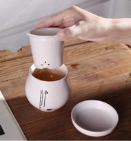 Asian Style Portable Teacup Set