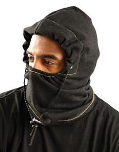 Occunomix #1070-FR Safety Helmet 3 in 1 Liner - FR  Black