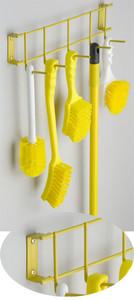 17 inch Utility / Sanitation Rack, (5) 2 inch Hooks