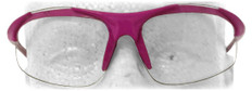 ERB #18618 Ella Pink Safety Eyewear w/ Clear Lens