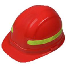 ERB #15966 Safety Helmet Wrap Around Reflective Sticker - Lime