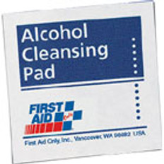 "Alcohol Cleansing Pads - 1-1/4"" x 2-5/8"" 10/Box"