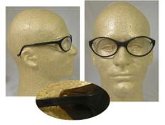 Uvex #S1620 Bandit Safety Eyewear Blue Frame w/ Clear Lens