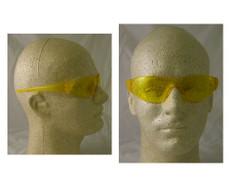 MCR Crews #CK114 Checkmate Safety Eyewear w/ Amber Lens