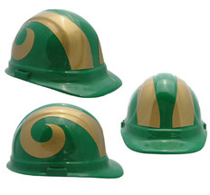 Colorado State University Rams Safety Helmets
