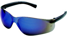 MCR Crews #BK118 Bearkat Safety Eyewear w/ Blue Mirror Lens