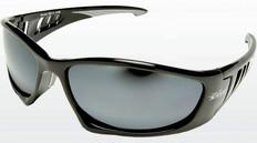 Edge #SB117 Baretti Safety Eyewear w/ Silver Mirror Lens