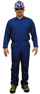 Indura Coveralls - Royal Blue - Size Small to 5XL