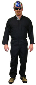 Nomex IIIA Coveralls - Navy Blue - Sizes Small to 5XL