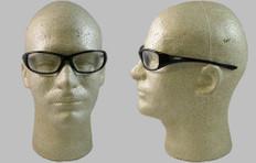 Jackson #3013853 Hellraiser Safety Eyewear w/ Fog Free Clear Lens