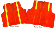 Mesh Surveyors Vests With Horizontal Stripes Only (2XL size only)