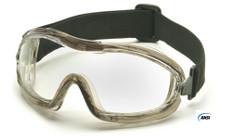 Pyramex #G704T Capstone Low Profile Safety Eyewear Goggles w/ Clear Lens