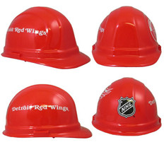 Detroit Red Wings Safety Helmets