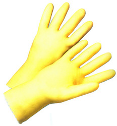 Latex Unlined 17 Mil Glove 12 inch length (sold by the dozen)