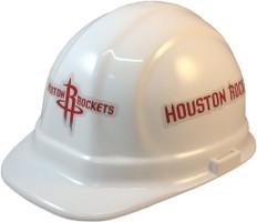 Houston Rockets NBA Basketball Safety Helmets - Oblique View