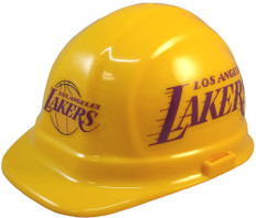 Los Angeles Lakers NBA Basketball Safety Helmets  - Oblique View