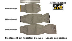 """Steelcore II Cut Resistant Sleeves 12 inch (SOLD BY """"EACH"""")"""