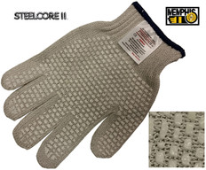 Steelcore II Cut Resistant Gloves w/ PVC Blocks on Both sides (SOLD BY THE EACH)