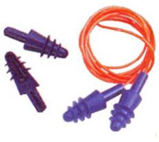 Air Soft Semi-Perm Earplugs w/Cords (100 Ct.)