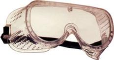 Pyramex #G201t Fog-Free Perforated Safety Eyewear Goggles w/ Fog Free Clear Lens