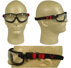 Pyramex #GB1810ST V2G Safety Eyewear w/ Fog Free Clear Lens
