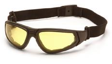 Pyramex #GB4030ST XSG Safety Eyewear w/ Amber Lens