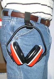Howard Leight Slim Belt Clip Earmuff Holder