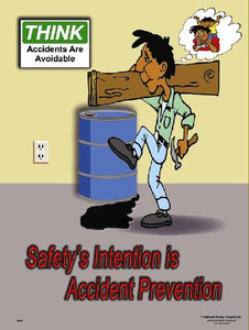 Accident Prevention Poster - 18X24