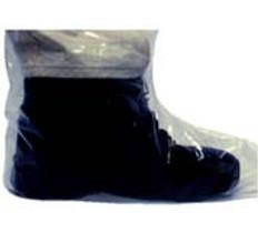 Plastic Boot Covers 6 Mil Plastic (10 PAIR SAMPLE PACK)