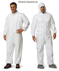 Promax Coveralls w/ Hood, Boots, & Elastic Wrists (25 per case)