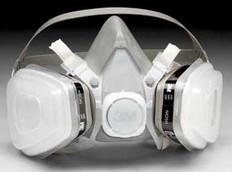 3M 5000 Half Face Respirator Kits Medium Size