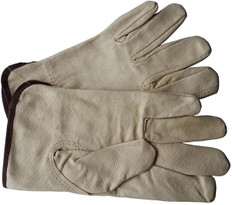 Unlined Pigskin Leather Driver Gloves (SOLD BY THE PAIR)