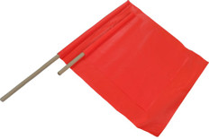Safety Flags 24 inch by 24 inch solid material orange