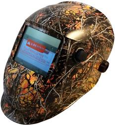Auto Darkening Hydro Dipped Welding Helmet  -  Wildfire Design - HDWH-706