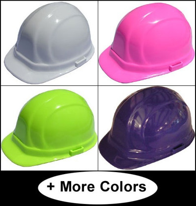 ERB Omega II Cap Style Safety Helmets with Ratchet Liners