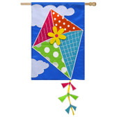 Regular Applique Kite Flying Flag