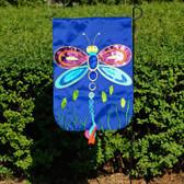 Dragonfly  Applique Flag (Garden)