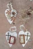Tin Heart Ornament