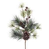 Mini Pine Cones on Stem Decor